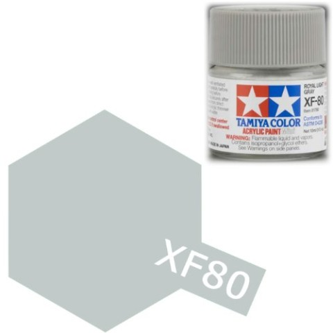 XF80_Tamiya_colore_acrilico_opaco_modellismo_statico