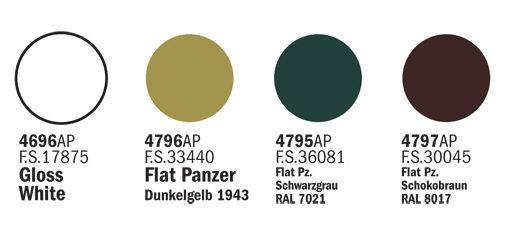 433-COLORI-ITALERI-MODELLISMO-STATICO-GERMAN-F2