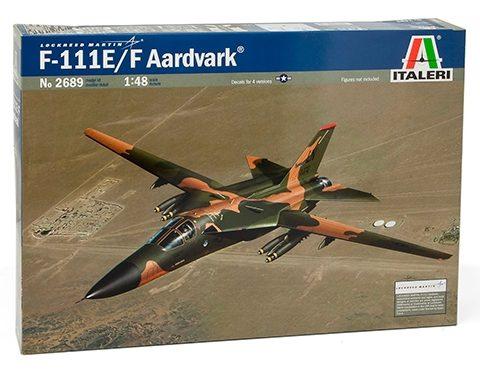 f-111-f-aardwark-modello-statico-italeri-scala1-48box