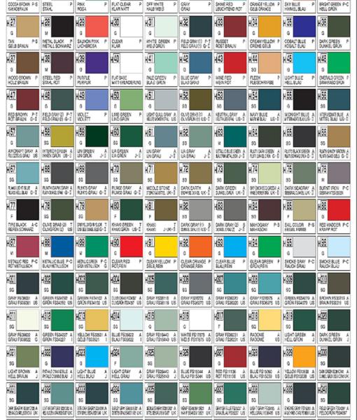 tabella-colori-gunze