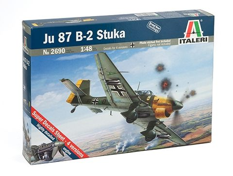 ju-87-b2-stuka-italeri-scala1-48-modello-statico-box