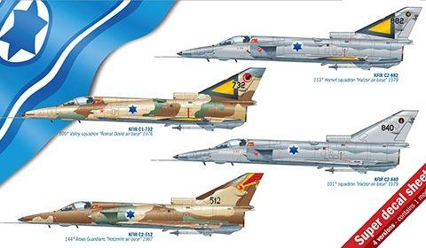 kfir-c1-c2-aereo-statico-italeri