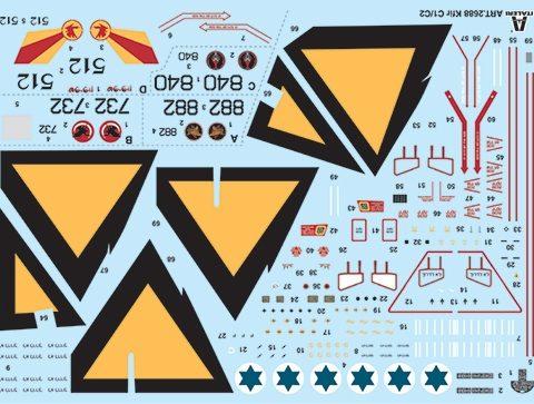 kfir-c1-c2-aereo-statico-italeri-decals