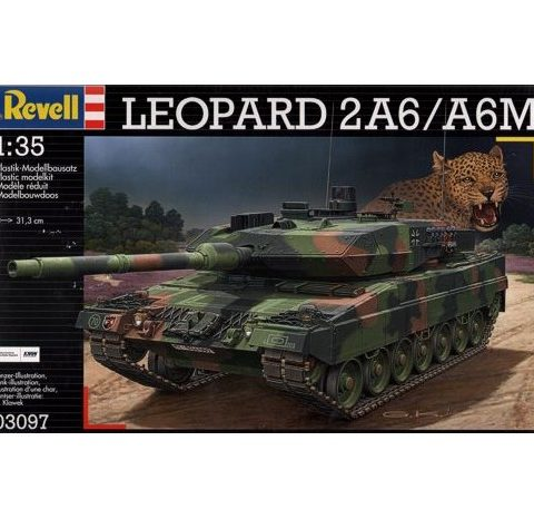 leopard-2a6-a6m-1-35-revell-3097