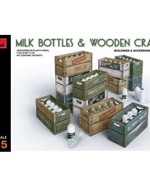 miniart-35573-milk-bottles-wooden-crates-modellismo-statico