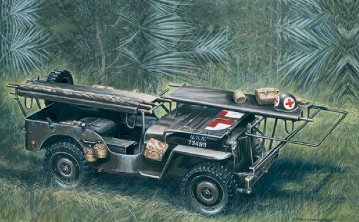 italeri-326-1-4-ton-4x4-ambulance-jeep