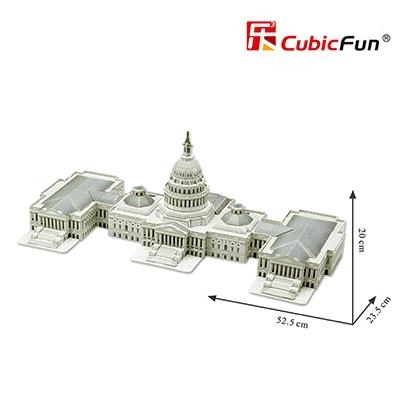 campidoglio-washington-cubicfun-3d-kit-foam-f2