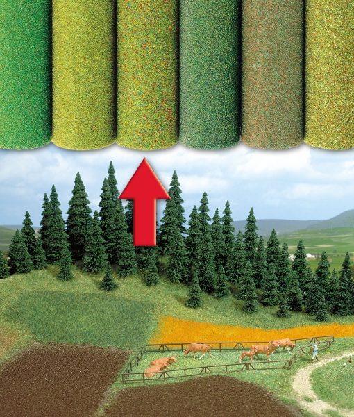 prodotti-per-diorami-tappeto-erboso-verde-fiorito-b7222