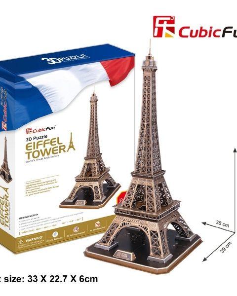 torre-eiffel-parigi-cubicfun-mc091h