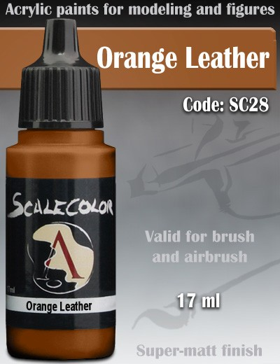 sc28-orange-leather-scale75-colori-miniature-modellismo