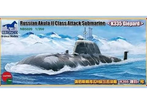sottomarino-bronco-models-nb5020-russian-akula-ii-class-attack-submarine