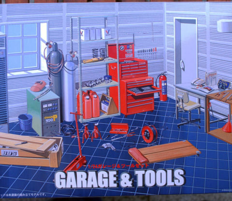fujimi-1118-garage-and-tools