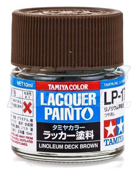 lp-17-tamiya-lacquer-linoleum-deck-brown-colore-modellismo