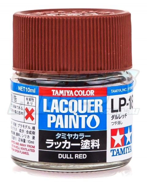 lp-18-dull-red-lacquer-tamiya