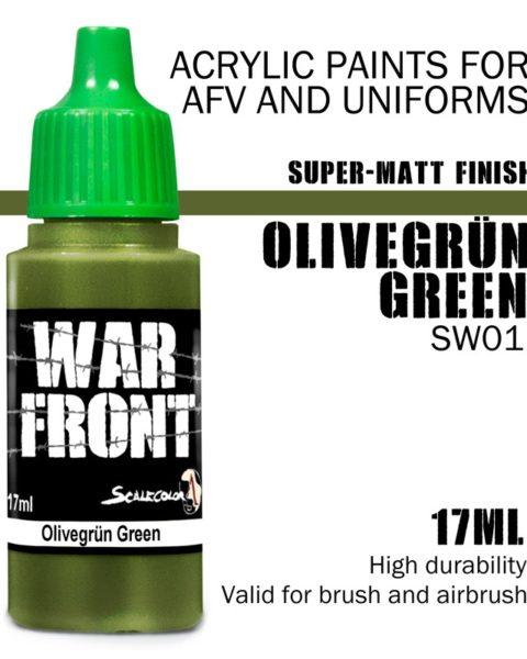 olivegrun-green