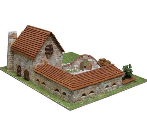 aedes-1414-costruzioni-in-mattoni-kit-modellismo-foto2