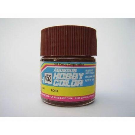 gunze-hobby-color-flat-rust-red-h453