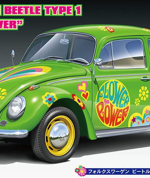 20488 VW BEETLE TYPE 1 FLOWER POWAER_ol